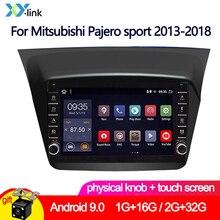 Car Multimedia player 9 Inch Android 9.0 button knob For Mitsubishi Pajero sport 2013-2018 GPS camera autoradio stereo audio 2 din car multimedia player 9 inch android 8 1 radio for mitsubishi pajero sport 2013 2018 gps navigation stereo