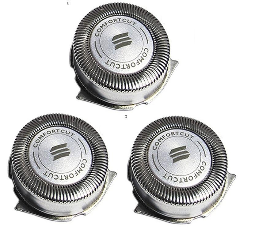 3 шт., Сменная головка для Philips Norelco HQ8 Series 3000 2000 1000 S738 PT720 PT724 PT730 AT810 AT830 HQ6090