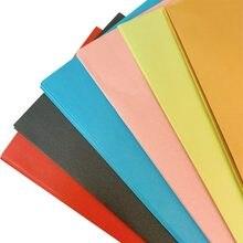 10 pçs/lote 220*110mm enviar saudações de ano novo para amigos com base na cor do envelope papelaria presente