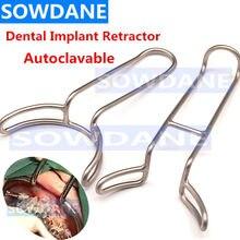 Implant dentaire Vestibulum rétracteur grande bouche Gag ouvre-dents écarteur dentiste Instrument chirurgical outil de blanchiment des dents
