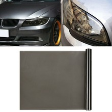 30cm x180cm Car Headlight Taillight Fog Light Color Changing Tint Film Vinyl Sticker Front Rear Lamp Fog Light Styling Sticker car styling decoration 1pc 12x78 chameleon clear car headlight tail fog light vinyl tint film wrap uv protector