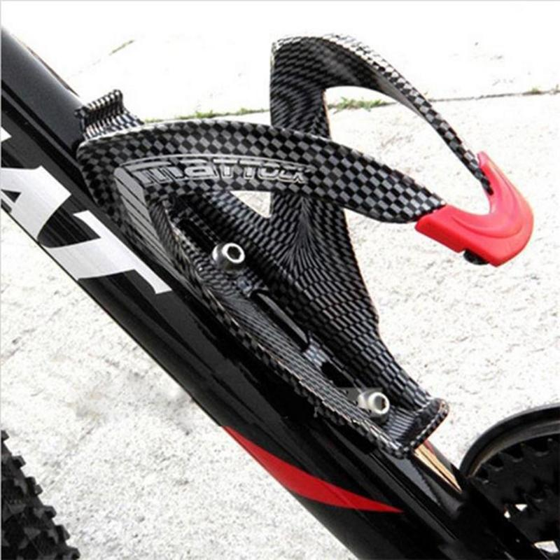 MTB Bike Road Bottle Cage Carbon Fiber Glass Water Holder Bicycle Accessories