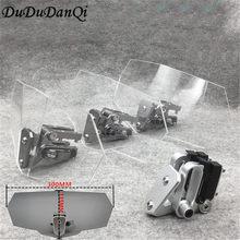 Pare-brise universel pour moto, déflecteur d'air réglable, pour Kawasaki, BMW, Ducati, honda, Benelli, Triumph, Yamah