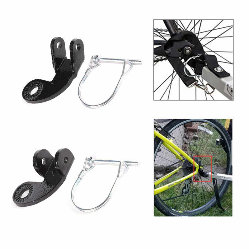 Steel Replacement Bike Trailer Coupler Hitch For Burley Accessories Connector