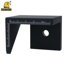 45 Degree Angle Marker Gauge Line Scriber Center Finder Right Angle Square Center Line Drawing Scriber Woodworking Tools