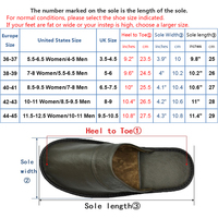 Genuine Cow Leather slippers couple indoor  non-slip men and women home fashion casual single shoes PVC soft soles spring autumn 5