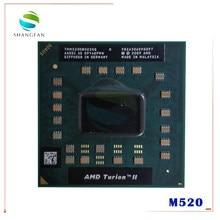 AMD Turion II – téléphone portable double cœur, 2.3 GHz, double filetage, prise S1, M520