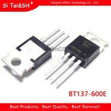 10 шт. Φ TO220 Φ TO-220 BT137 137-600 137-600E Triacs sensitive gate 8A/600V Новый и оригинальный