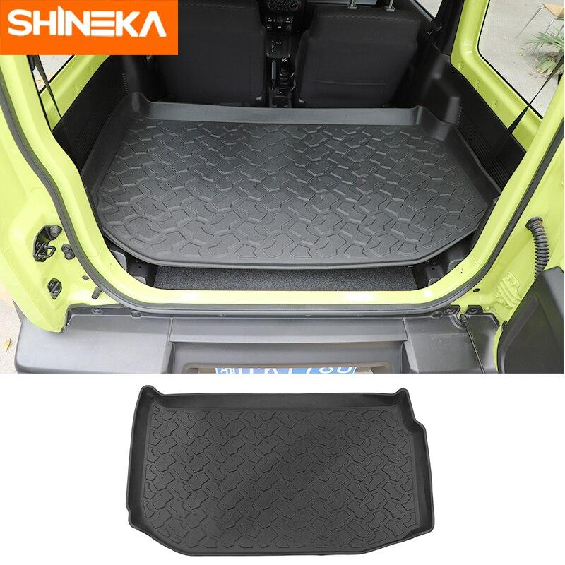 SHINEKA Boden Matte für Suzuki Jimny 2019-2020 Hinteren Koffer Cargo Mat Kissen TPE Pad Auto Innen Zubehör Auto styling für Jimny