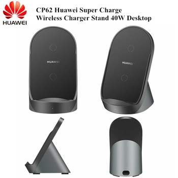 Original Huawei CP62 Super Fast Charge Vertical Wireless Charger (Max 40W) For Huawei P40 Pro P40 Pro plus HONOR V30 Pro Mate 40