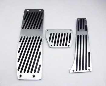AT pedal Pads Cover Stickers Car Styling For BMW 3 5 series E30 E32 E34 E36 E38 E39 E46 E87 E90 E91 X5 X3 Z3 Car Accessories image