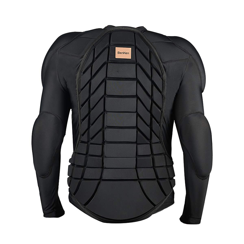 BenKen Skiing Anti-Collision Sports Shirts Ultra Light Protective Gear Outdoor Sports Anti-Collision Armor Spine Back Protector