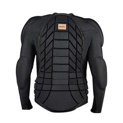 BenKen esquí Anti-colisión camisas deportivas Ultra ligero equipo de protección deportes al aire libre Anti-colisión armadura Protector de espalda
