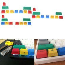 PBT 10 Keys Keycap RGBY Mechanical Keyboard Add-on Kit OEM Cherry height