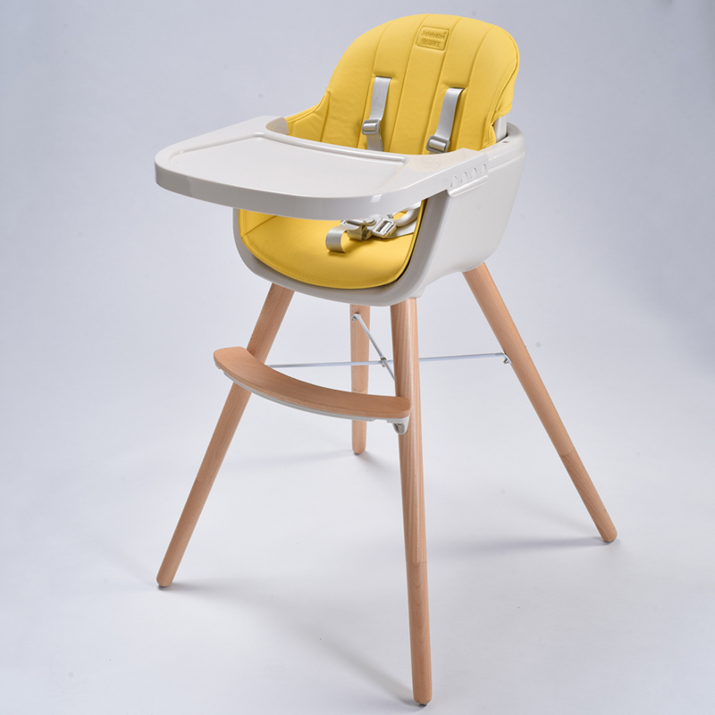 Baby Dining Chair Solid Wood Home Children's Dining Chair Dinner Chair Seat Portable Baby Dining Table Chair Rice Table Stool