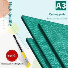 A2a3A4a5 double-sided cutting pad large desktop student hand account art carving knife paper rubber seal