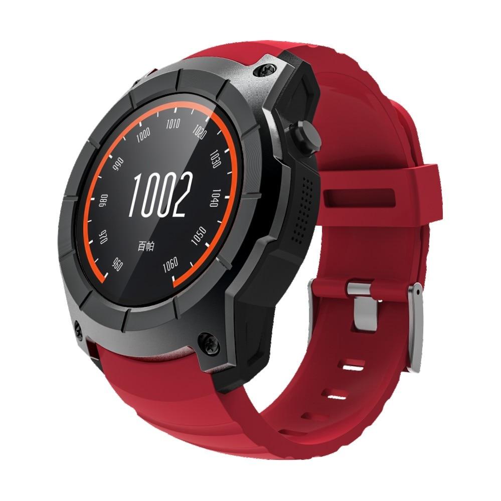 Smartch S958 gps Смарт часы многофункциональные спортивные часы монитор сердечного ритма часы Поддержка SIM TF карты барометр активности трек Mu - 3