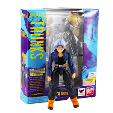 Trunks SHFiguart Dragon Ball Z dragonball PVC Figure Toy with Box