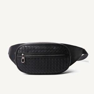 Image 1 - เอวกระเป๋าผู้ชายกระเป๋า Casual Fanny กระเป๋าโทรศัพท์เงินเข็มขัดกระเป๋าหนังแท้ 100% Cowhide เข็มขัดแพ็ค