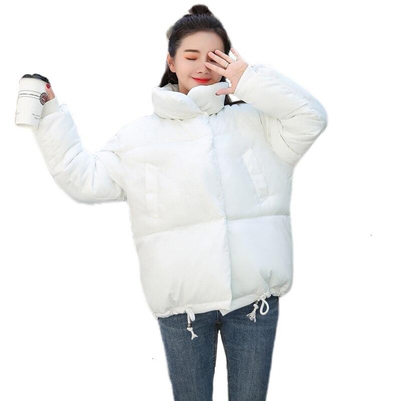 2019 Stand -Up Crack Women Winter Short   Basic     Jacket   Women's Bread Service Hot Short   Jacket   Katoon Down   Jackets   for Women
