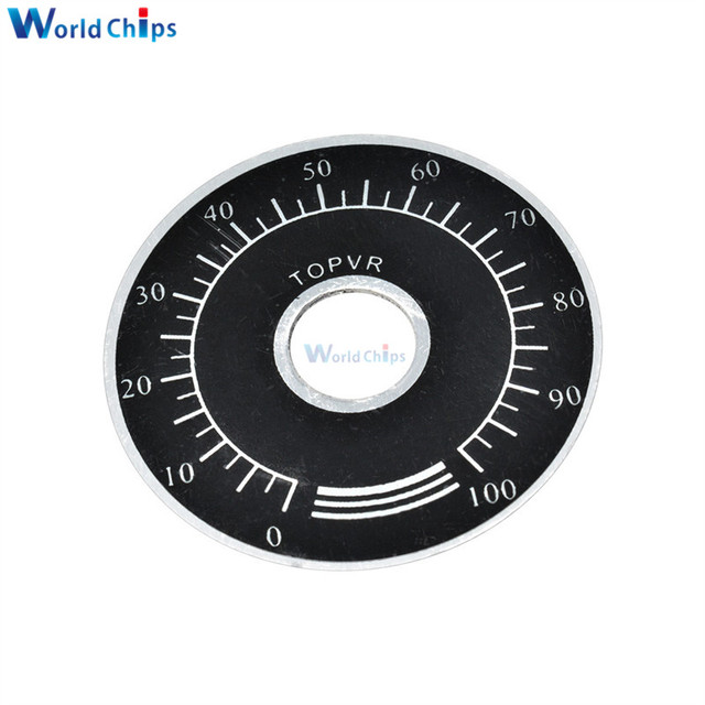 10Pcs 0-100 WTH118  WX112 RV24YN Potentiometer Knob Scale Digital ScalYJU oq