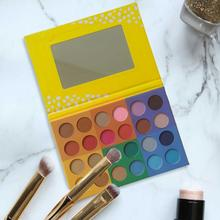 24 Colors 1pcs Eyeshadow Palette Pearly Matte Easy To Color Makeup Palette Smoky Eye Makeup Wedding Makeup Party Cosmetic