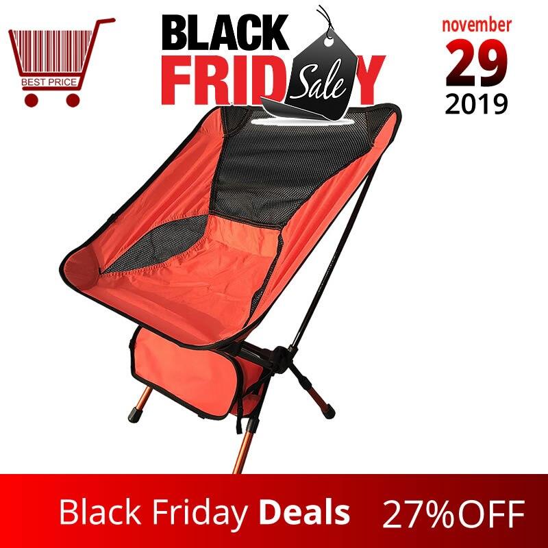 Fishing Chair Portable Folding Camping Stool Chair Max Load Bearing 150 Kg Silla Plegable