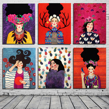 Nordic Poster Pop Art Girl Canvas Painting Print Living Room Home Decoration Artwork Modern Wall Art Oil Painting Poster Picture цена и фото
