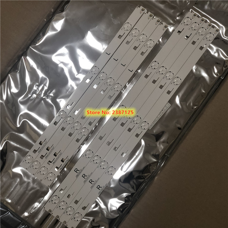 8pieces  LED Backlight SVY490A23_Rev00_5LED_R/L 150223 FOR SYV494 KD-49X8000C KD-49X8005C  KD-49XD7005 LC490EQY-SJA3 KD-49XD7066