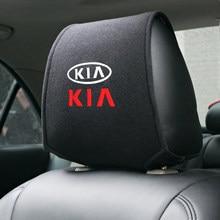 1 pçs capa de encosto de cabeça do carro caso auto para rio ceed sportage kia cerato alma sorento k2 k5 flip capa de assento do carro
