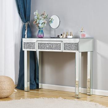 Lekki luksus Nordic meble do sypialni upiększyć lustrzana toaletka stół konsolowy stół narożny komoda tanie i dobre opinie CN (pochodzenie) Meble hotelowe Hotel sypialni zestaw Meble komercyjne