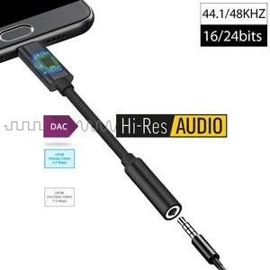 Image 4 - Tai Hi Res USB DAC Loại C Đến 3.5Mm Tai Nghe Hifi Khuếch Đại Adapter Dành Cho Google Pixel 4 Mặt Pro 7 Note 10 2012 iPad Pro