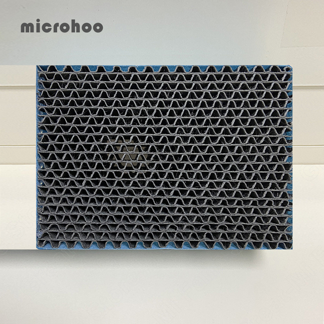 Original Microhoo Capacity Mini USB Portable Air Conditioner Filter Cool and Humidify Touch Screen Air Conditioner Filter 4