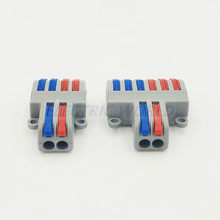 Cable connector SPL-42 Mini Fast Wire Connectors Universal Compact Wiring Connection Lighting Push-in Conductor Terminal Block