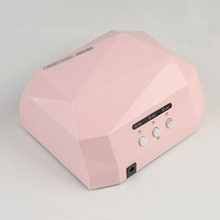 36W UV Led Lamp Nail Dryer  Diamond Shaped 12Pcs Beads Curing for LED Gel Polish Art Tools