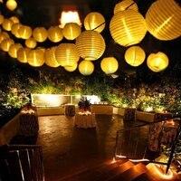 Guirnaldas de luces alimentadas por energía Solar, decoración navideña de jardín, impermeable, cadena de luces, guirnalda para el hogar, luz de hadas, 30 led