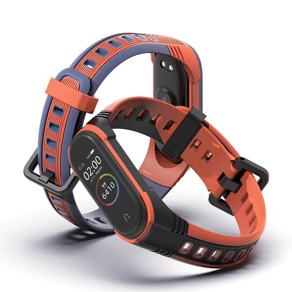 Mi Band 4 Strap New Style X Strap For Xiaomi Mi Band 3 Sport Silicone Bracelet For Xiaomi Mi Band 5 Smart Watch Bracelet