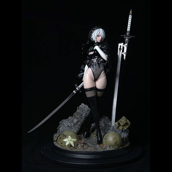 Nier Mechanical Age 2B Two-Headed Limited Statue 1/4  Figure 2