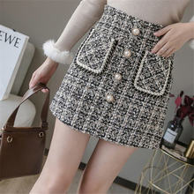 Женская юбка с большим карманом в Корейском стиле повседневная