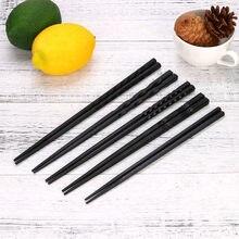 1 paar Japanische Stäbchen für Sushi Rutsch Essen sticks Chop Sticks Wiederverwendbare Chinesischen Stäbchen Geschirr Geschenk Küche Werkzeuge #2