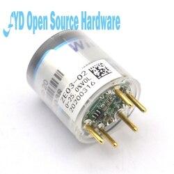 Módulo de oxígeno electroquímico ZE03-O2 dedicado sensor de oxígeno electroquímico detección de la concentración de oxígeno