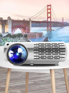 Crenovновейший Видеопроектор для домашнего кинотеатра Full HD 4K * 2K с 5G WIFI Android 6,0 OS 6500 люмен Proyector