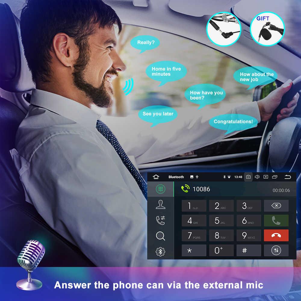 OKNAVI راديو السيارة ل سوبارو فورستر امبريزا 2008 2009 2010 2011 2012 2 الدين الروبوت 9.0 مشغل أسطوانات للسيارة GPS مشغل وسائط متعددة بلوتوث