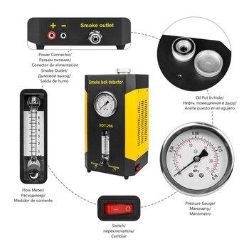2018 Generation Autool SDT206 Car Truck Smoke Leak Detector Smoke Machines EVAP System Updated Version of SDT-206