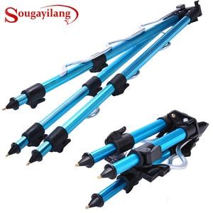 Image 1 - Staffa per treppiede Sougayilang supporto per treppiede da pesca telescopico in lega di alluminio staffa per pesca notturna staffa per canna da pesca