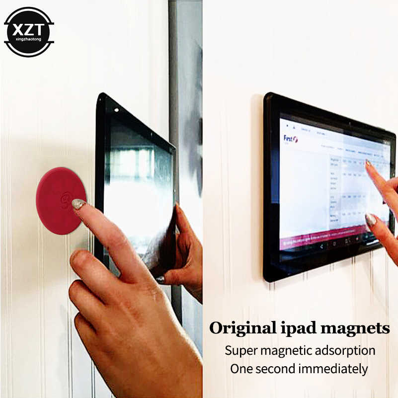 3 Pcs Tablet Dinding Mount Magnetic Holder Stand Car Holder For Ipad Magnet Adsorpsi Prinsip Memilih dan Tempat untuk iPad tablet Berdiri