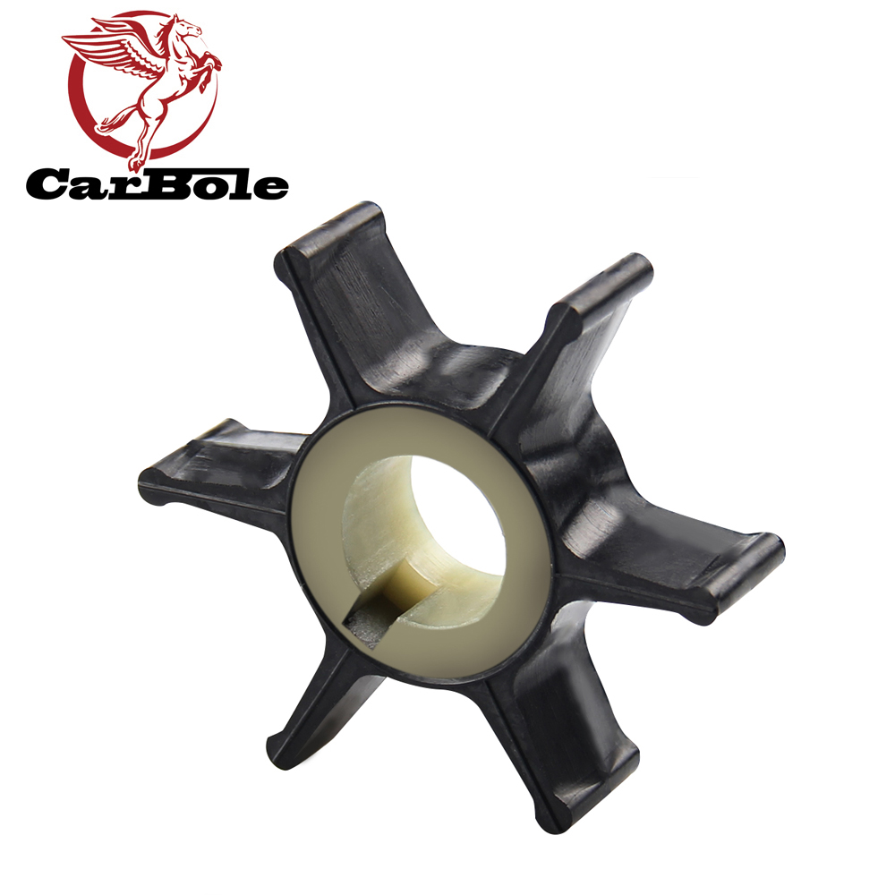 CARBOLE NEW For Chrysler Force Mercury OEM 25 35 40 45 50 HP  2 Stroke Outboard Motors Impeller 47-F433065-2 Boat Accessories