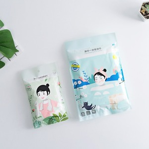 2pcs disposable Face Care Towel Bathing Shower Dry Towels portable boxed travel non-woven compression disposable Washing towel