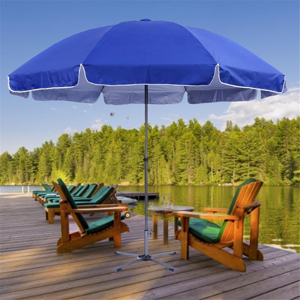 Portable Outdoor Parasol Garden Umbrella Stand Stretch Sun Beach Fishing Garden Sunshade Base Anchor Patio Umbrella Stand