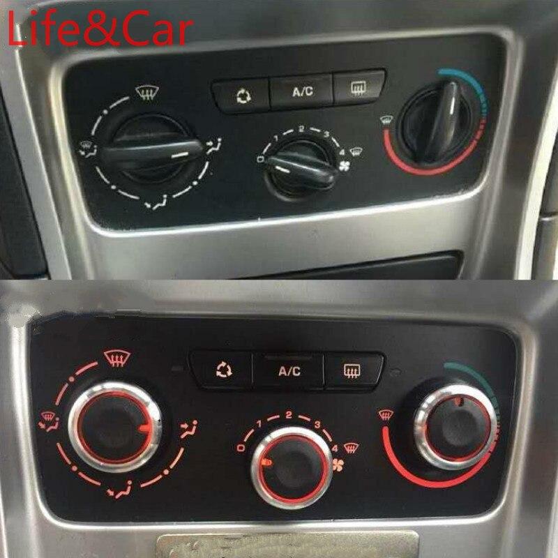 AC Нагреватель климат-контроль ручка панель Переключатель кнопки для PEUGEOT 307 CITROEN C-TRIOMPHE C4